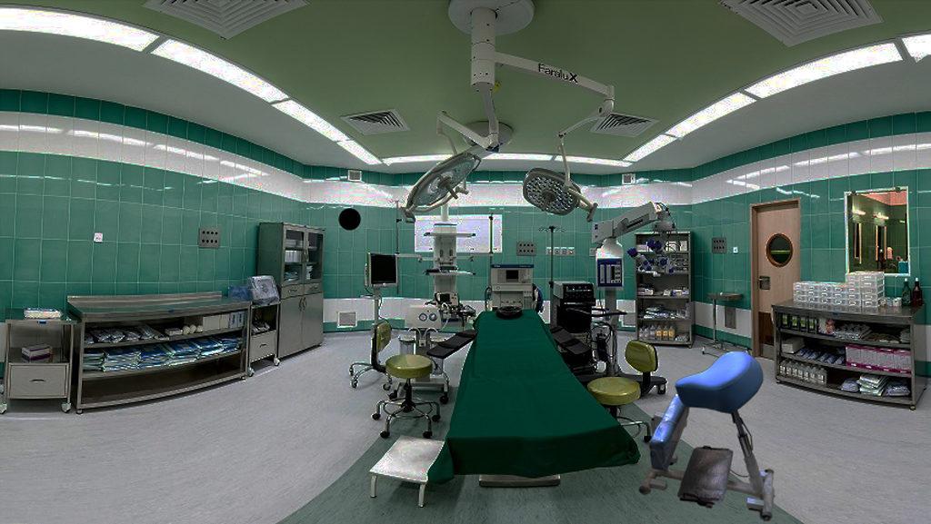 صندلی جراح فیت ارگو